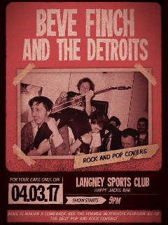 beve finch and the detroits 4 March