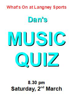 music quiz 2 March
