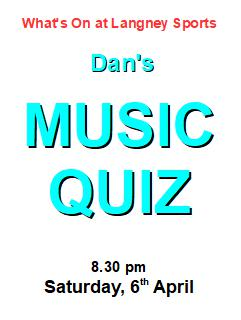 music quiz 6 April