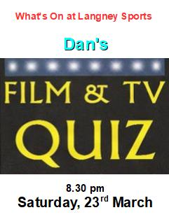 film and tv quiz 23 March