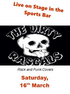 the dirty rascals 16 March
