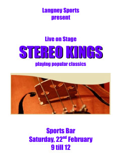 stereo kings 22nd february 22 February