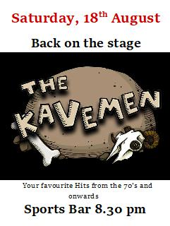 the kavemen 18 August